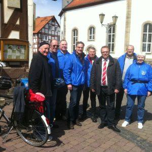 Dr. Fabio Longo trifft den Ersten Kreisbeigeordneten Winfried Becker in Niedergrenzebach